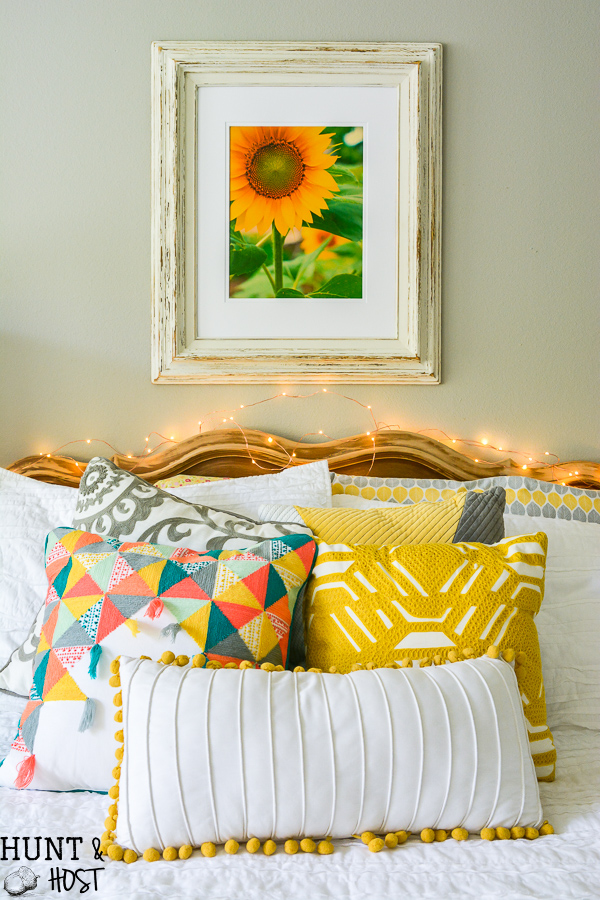 Tips For DIY Art Using Old Frames - Hunt and Host