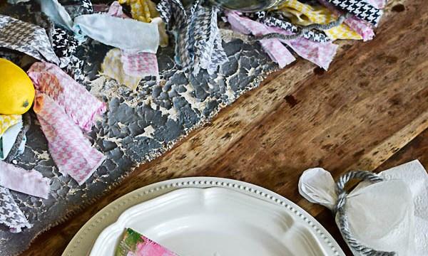 Lemon & Watermelon Summer Tablescape