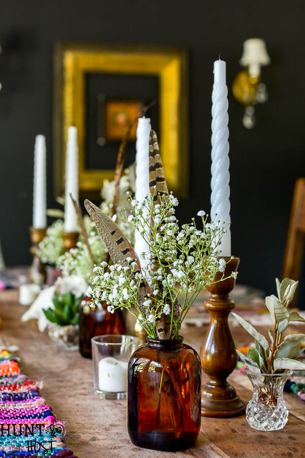 Boho Table Setting. Yes You Can Get Awesome Boho Décor On The Cheap. Look