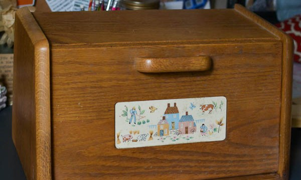 Bread Box Makeover For Extra Kitchen Storage