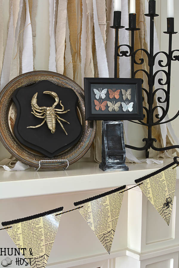 catch how to make your own diy gilded bug display case for halloween with supplies from - Halloween Supply Store