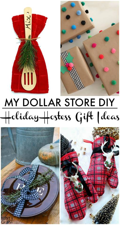 Dollar Store Hostess Gift - Hunt and Host