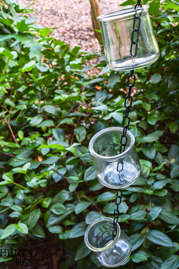 DIY rain chain tutorial easy and inexpensive