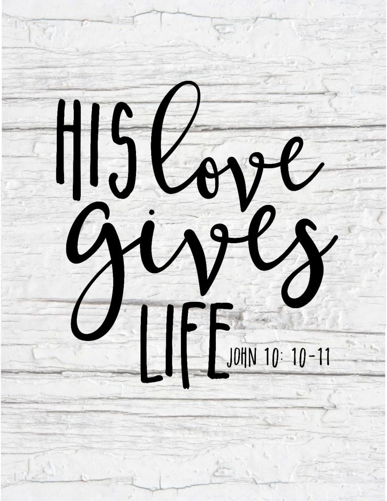 these free printable scripture art pieces will help you decorate with bible verses quick and easy