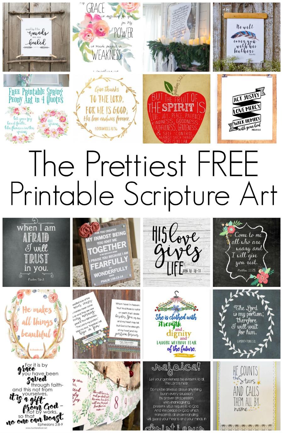 free printable scripture art hunt and host