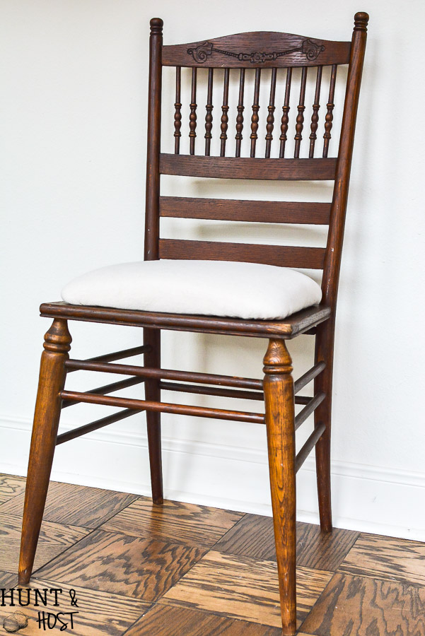 A broken cane chair redo. This cane chair makeover is easy to do yourself. Jeremiah 30:17