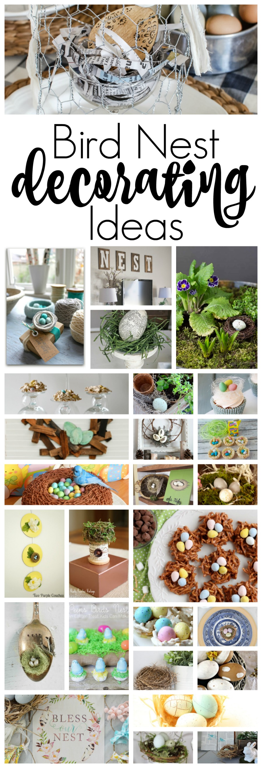 Over 25 Bird Nest Decorating Ideas For You To Add