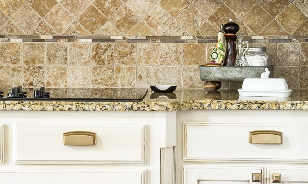 Glam French Country Kitchen Hardware Selection and Installation Tips