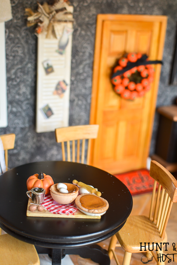 dress your dollhouse for fall with this cute fall dollhouse decorations and diy ideas halloween