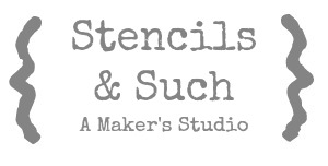 Shop A Maker's Studio with Hunt & Host, beautiful stencils, furniture paint, gilding supplies and candles.