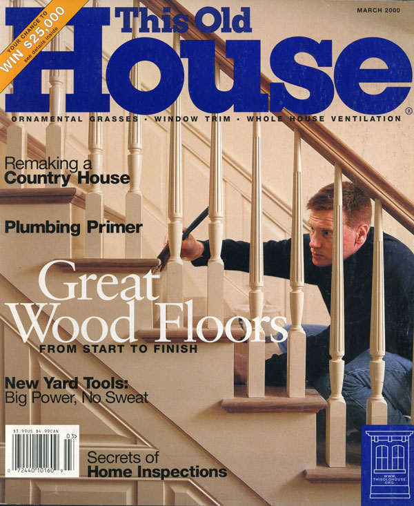 This Old House magazine cover featuring Pat Hunt