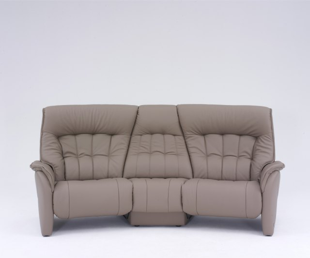 himolla rhine curved manual recliner sofa with table