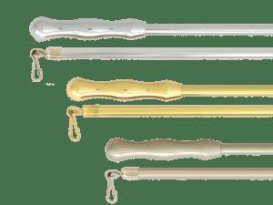 brass draw rod curtain draw rods