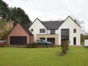 Architect Designed Self Build Replacement Home in Cheshire