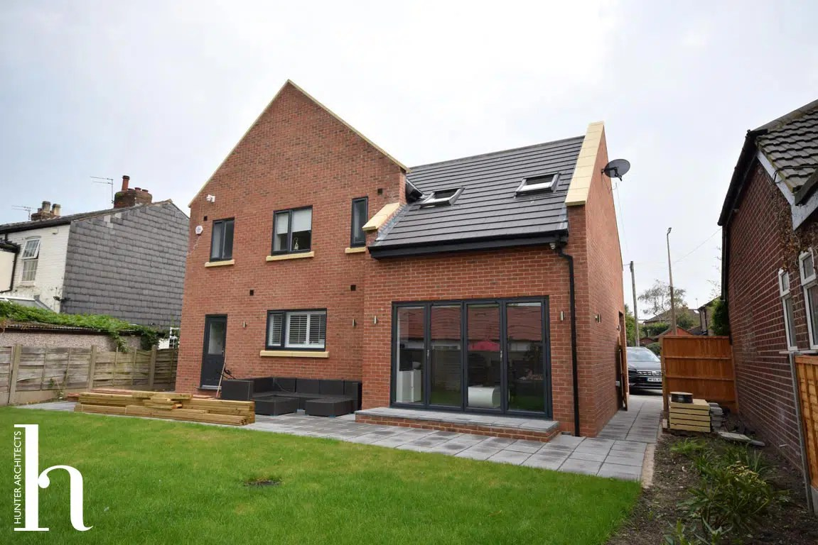 Planning Approval for Self build home in Trafford Cheshire