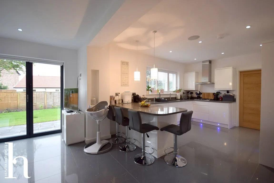 Family room by RIBA Architects Altrincham