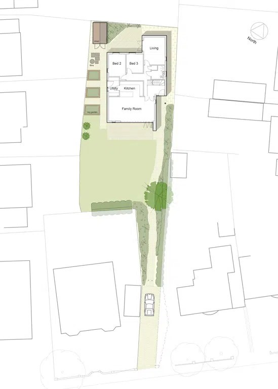 Self Build Site Plan - Hunter Architects