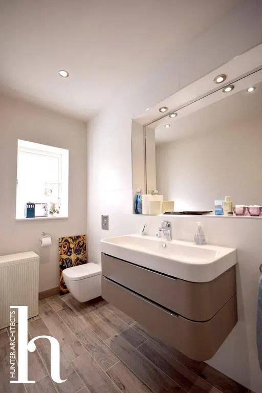 Family Bathroom by Flintshire RIBA Architects