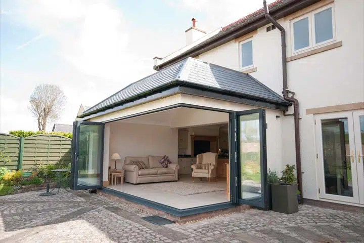 Garden Room Extension Architects to detached family home in Cheshire