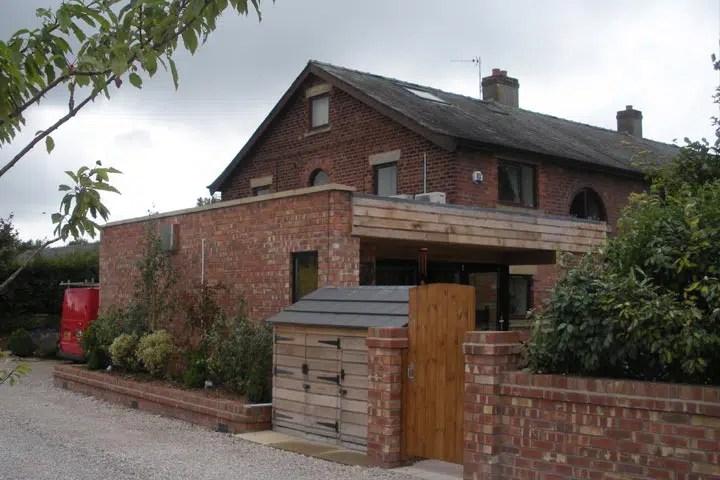 Lancashire Contemporary Garden Room Extension