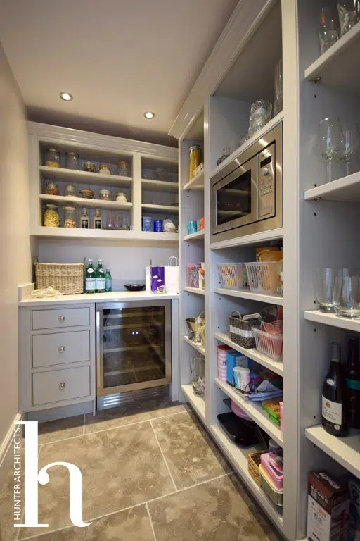 Pantry off main kitchen in Altrincham
