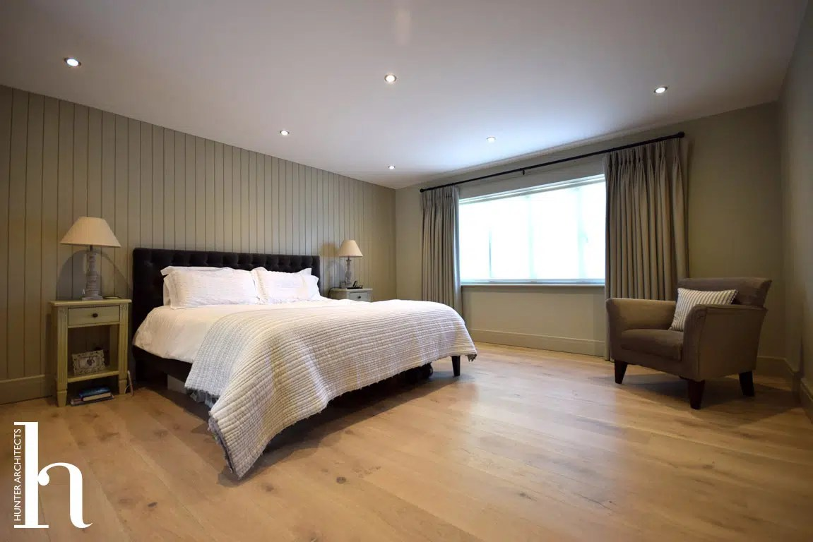 Master Bedroom with dressing room and en-suite in Hale