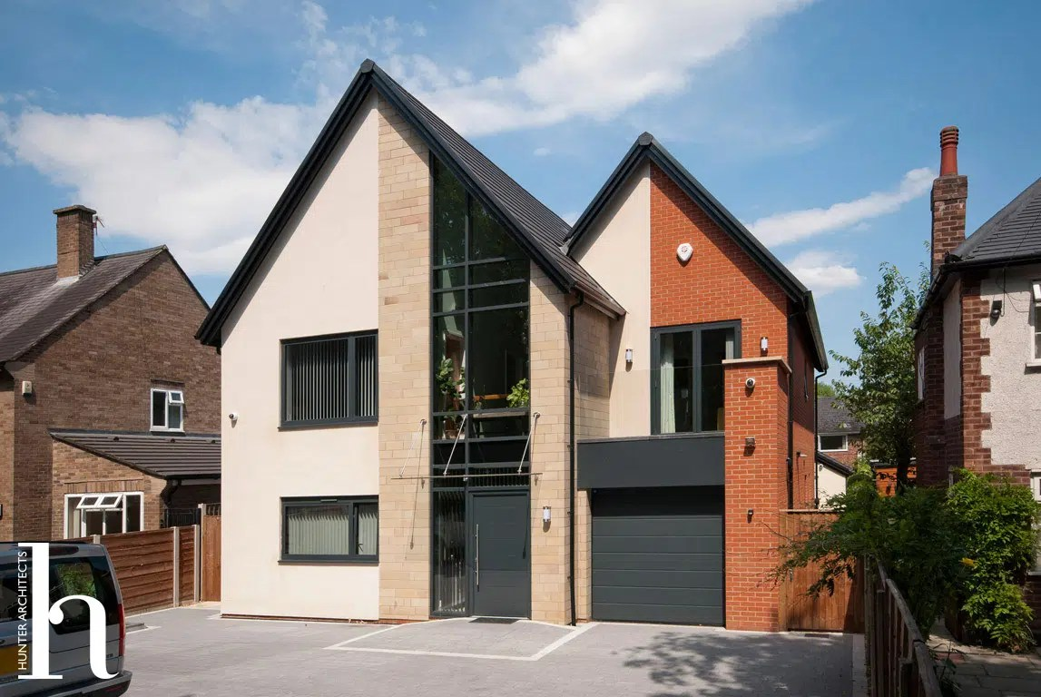 Contemporary Self Build CSH Level 3 Home in Manchester by RIBA Architects