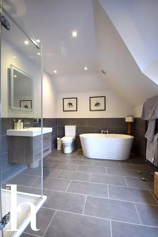 Master En-Suite by RIBA Architects House Extension
