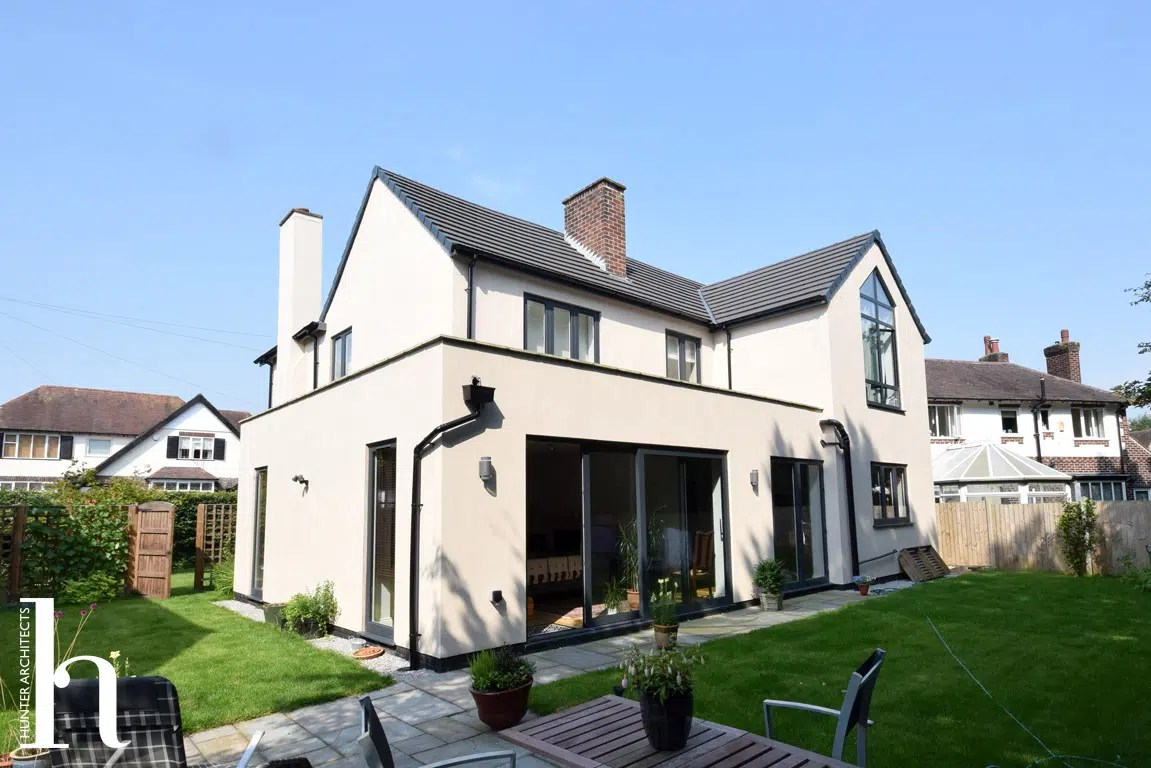 Contemporary House Extension RIBA Architects Wilmslow Cheshire