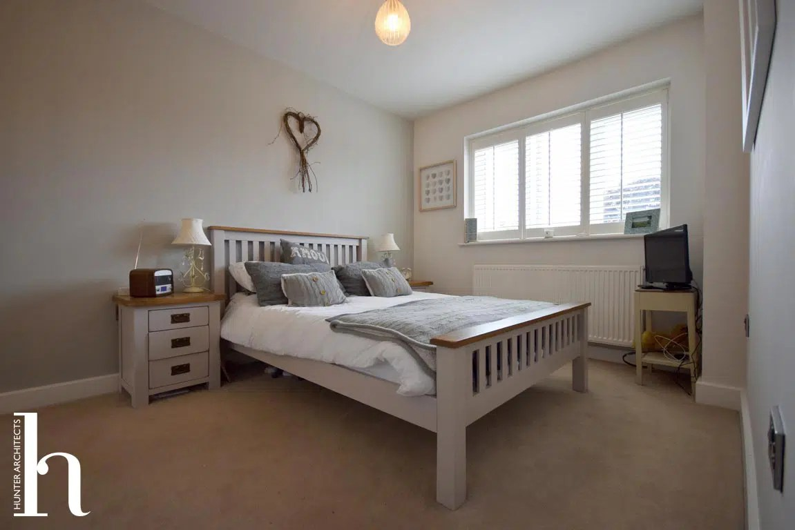 Master Bedroom with dressing room and en-suite in Timperley
