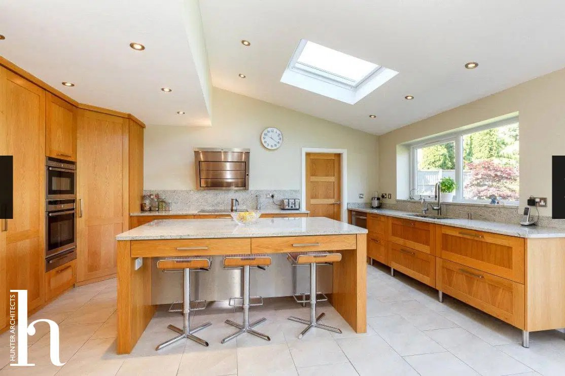Kitchen Extension to modern executive detached house
