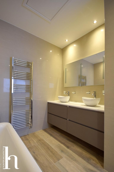 His & Hers Master Bathroom Suite