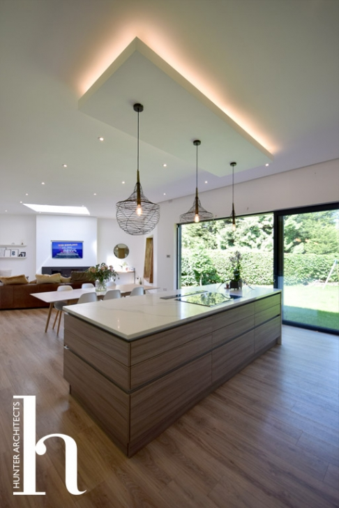 Altrincham open plan contemporary kitchen