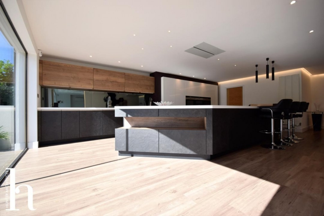 culcheth house extension kitchen