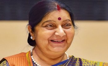 sushma swaraj passed away