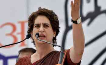 Congress leader Priyanka Gandhi