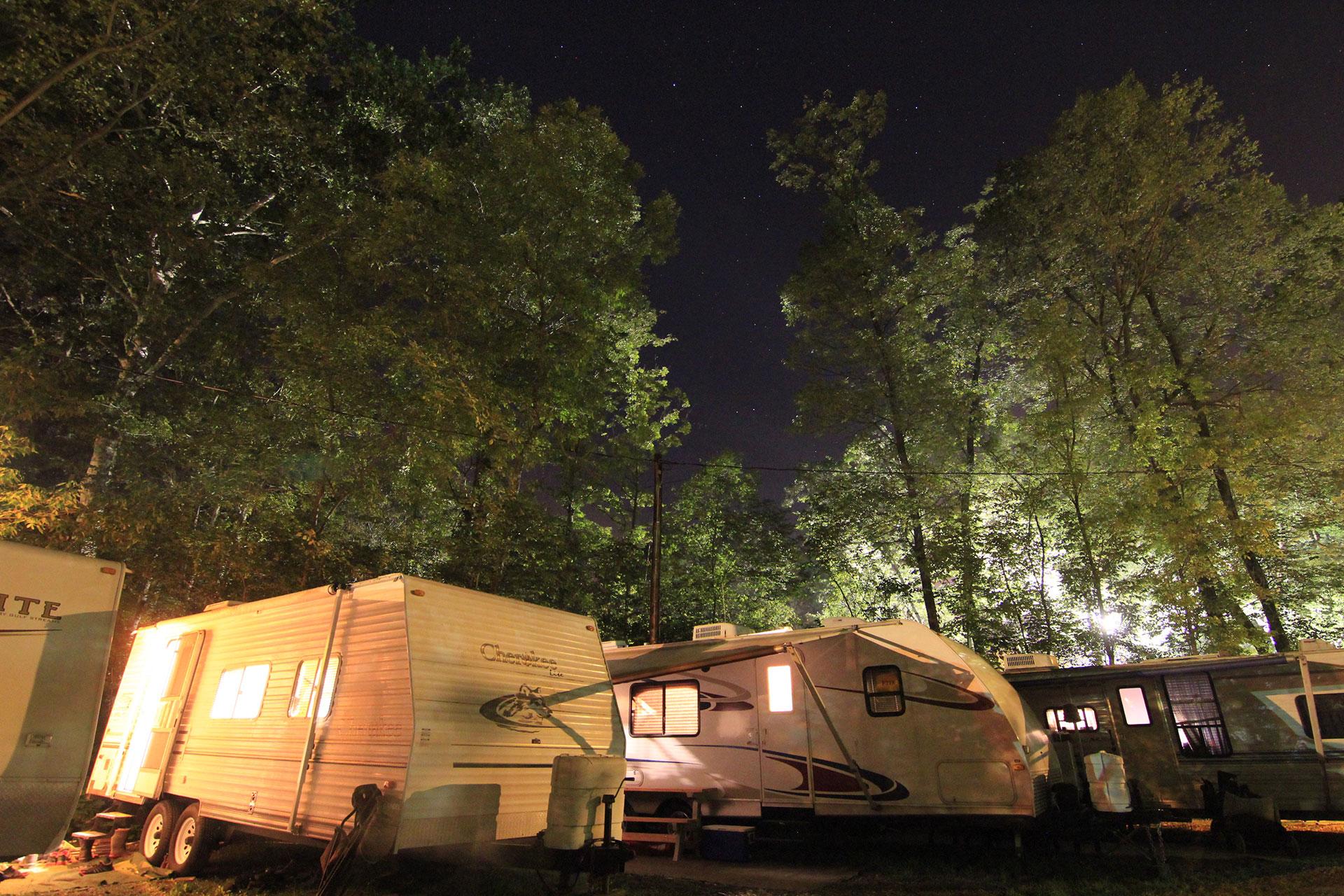 fair week camping