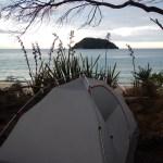 Tonga Quarry, Abel Tasman National Park, New Zealand, Coast Track, Camping, Tent