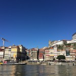 Porto, harbour, Portugal, sun