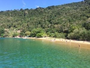 Paraty, beach, schooner tour