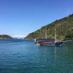 Paraty, schooner tour, sea