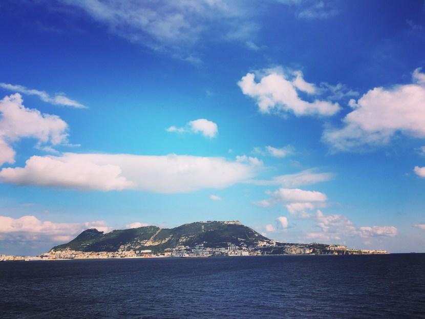Gibraltar, peninsula, sky