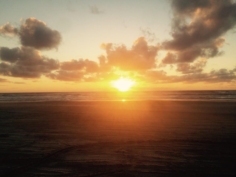 Sunrise, Australia, camping, Fraser Island