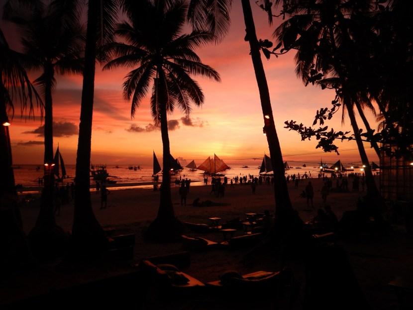 Sunset, Boracay