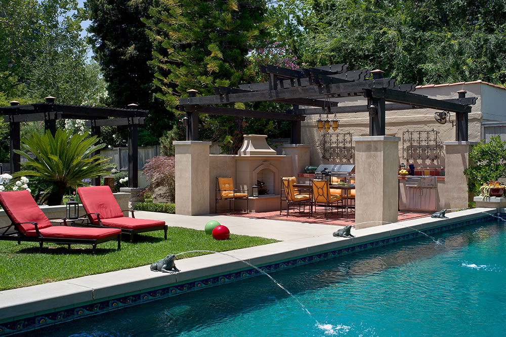 Outdoor Living Design by Huntington Pools Inc Southern ... on Southern Pools And Outdoor Living id=50620