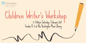 2015 Children Writer's Workshop
