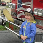Fire Truck at the Huntley Area Public Library