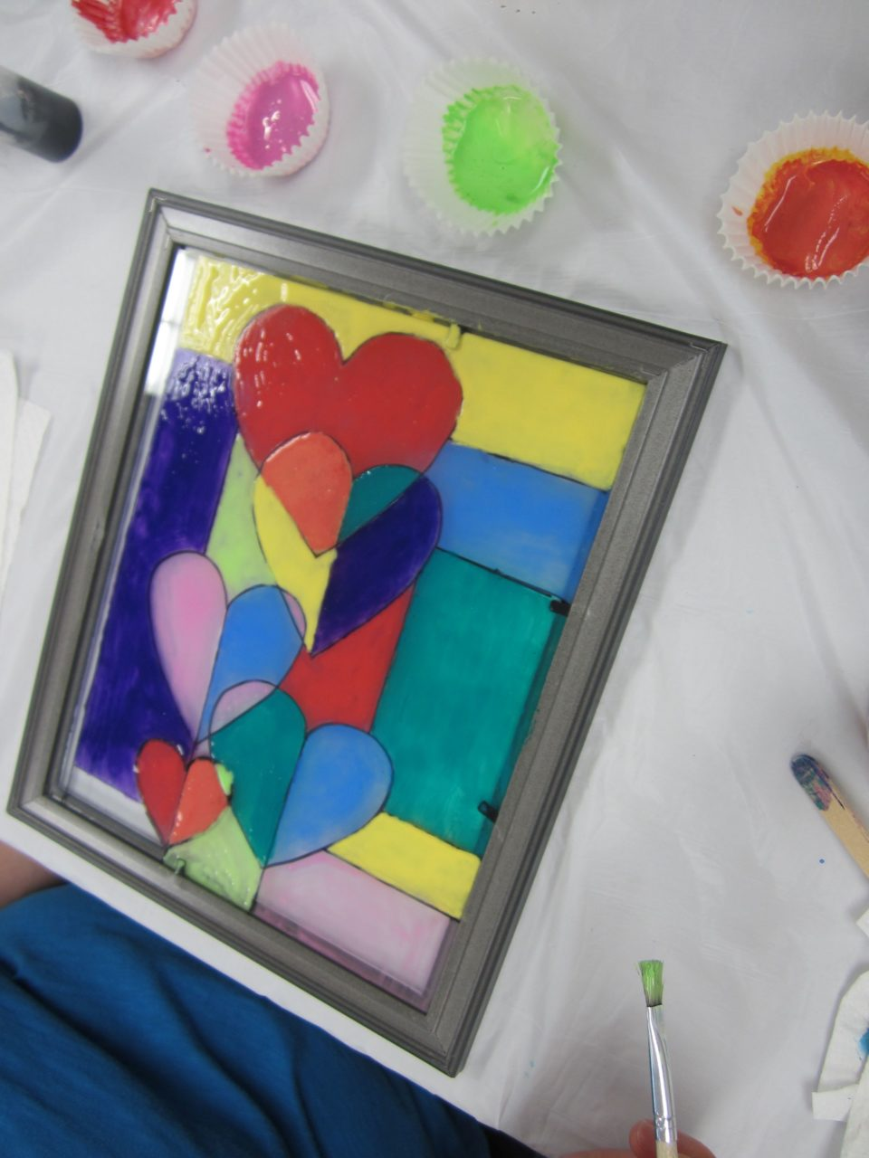 Project Tween: Faux Stained Glass (April 2017) Gallery – Huntley ...
