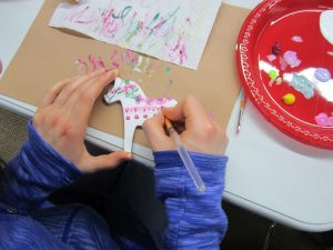 Teen Crafternoon: Paint a Dala Horse (December 2019) Gallery