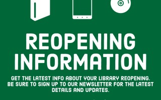 Updated: 5-29-20 - Information About Your Library Reopening
